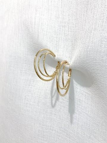Pendiente Triple Ring