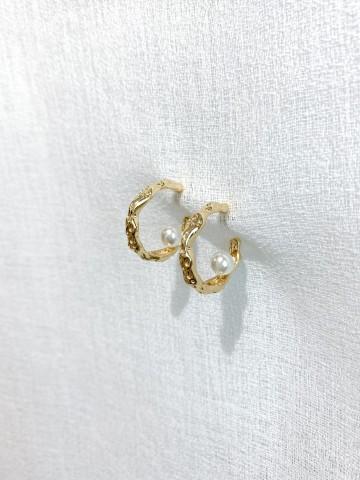 Pendiente Pearl Golden