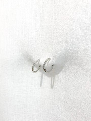 Pendiente Oval Silver