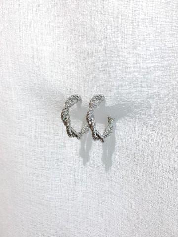 Pendiente Ring Silver