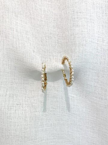 Pendiente Medium Pearl