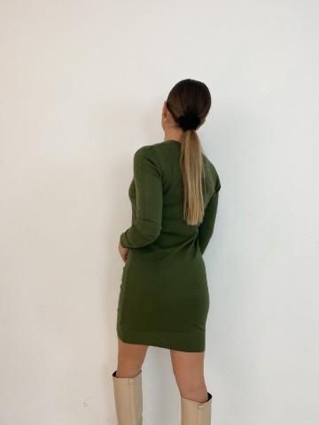 Vestido Silvana verde