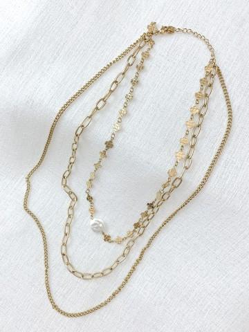 Collar Trebol Golden