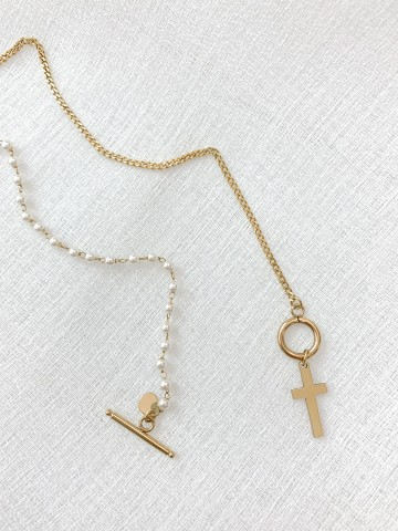 Collar Cross Golden