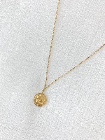 Collar Medalla Golden