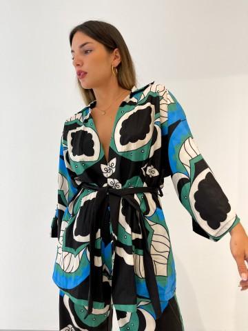 Kimono combinado