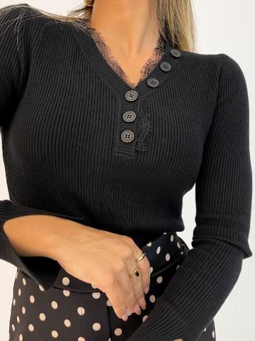 Jersey Luna negro