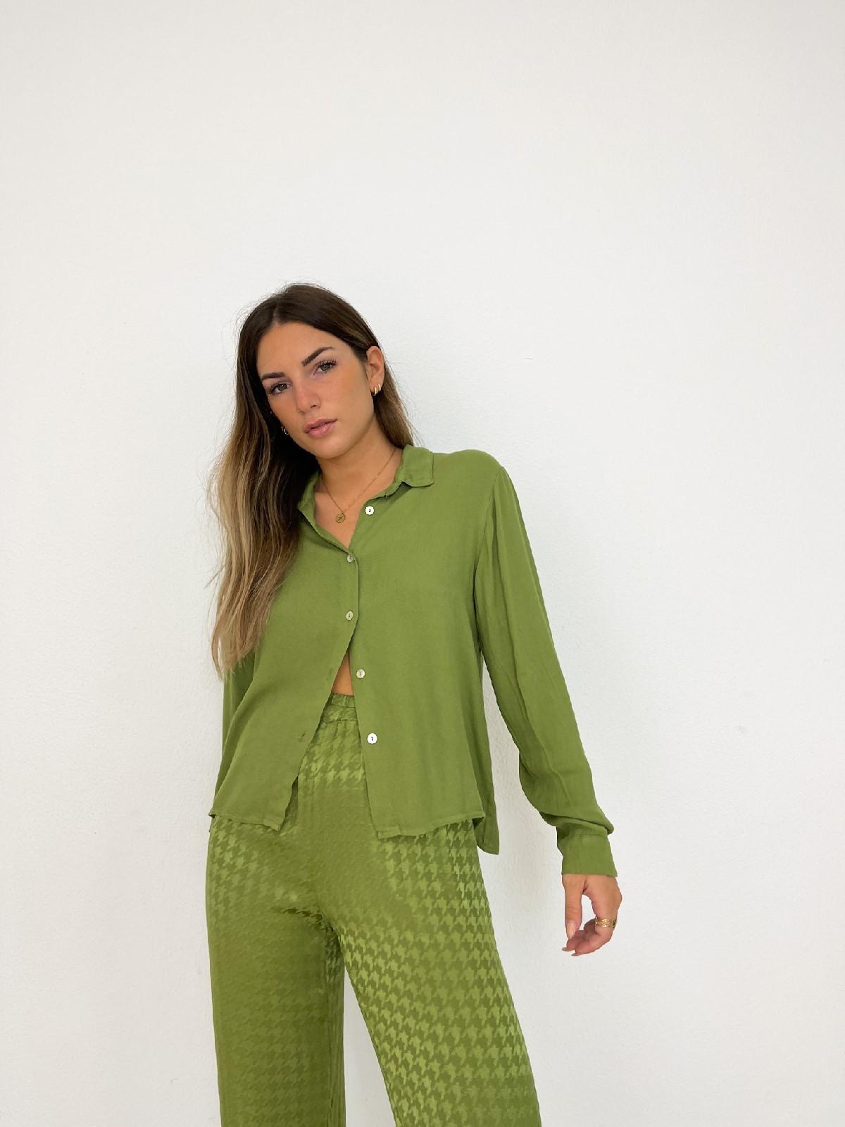 Camisa basic verde