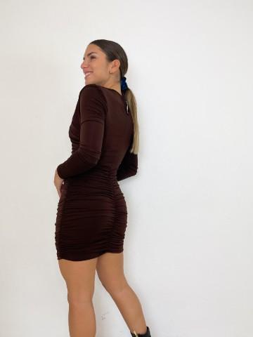 Vestido Altea marrón