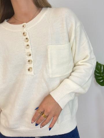 Jersey Button beige