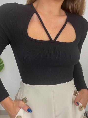 Camiseta Diana negra