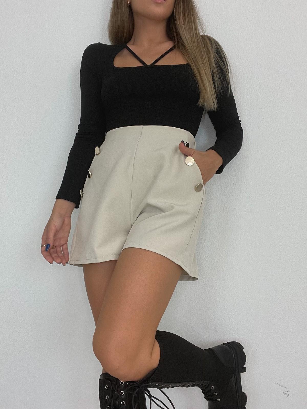 Short Milena beige