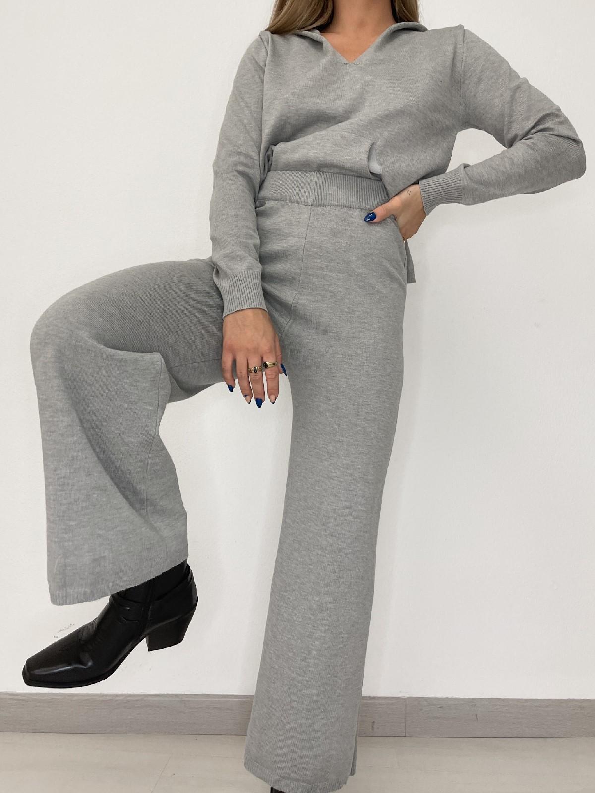 Conjunto Celia gris