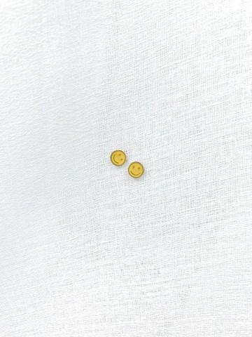 Pendiente Smile Amarillo