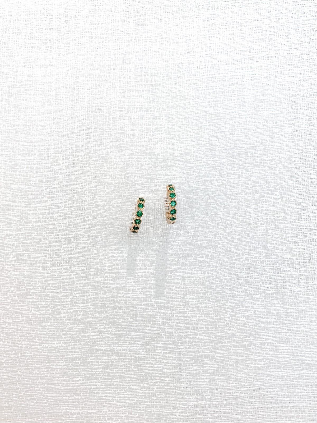 Pendiente Viena Verde