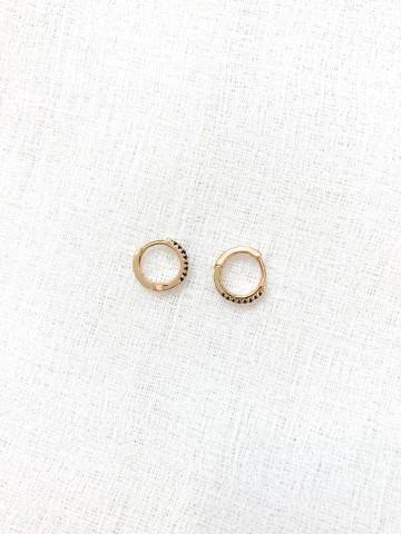 Mini Earring Black