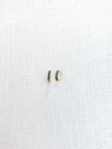 Mini Earring Green