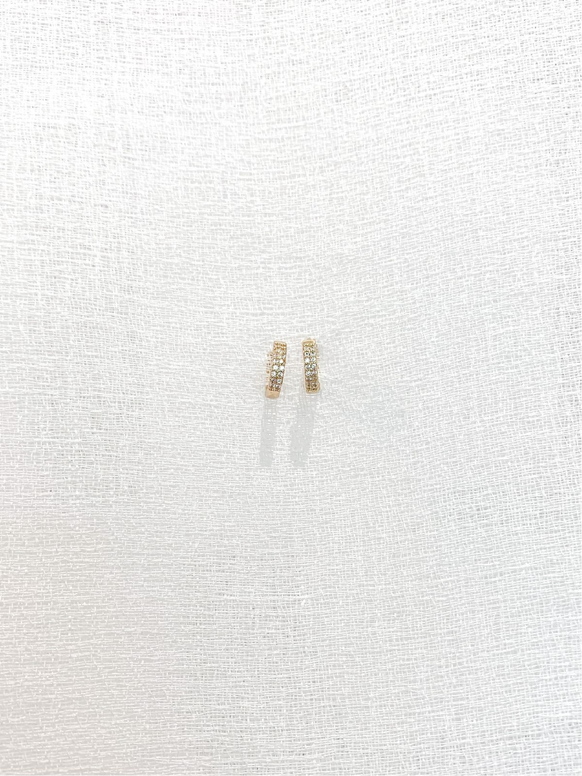 Mini Earring White