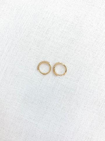 Pendiente Pearls Golden