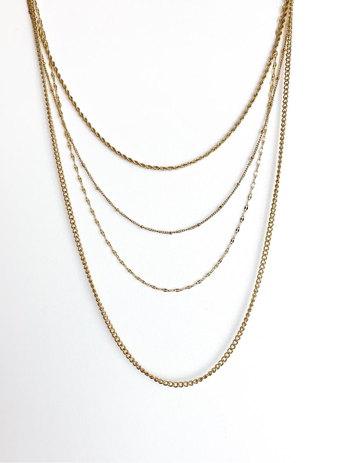 Collar Triple Golden
